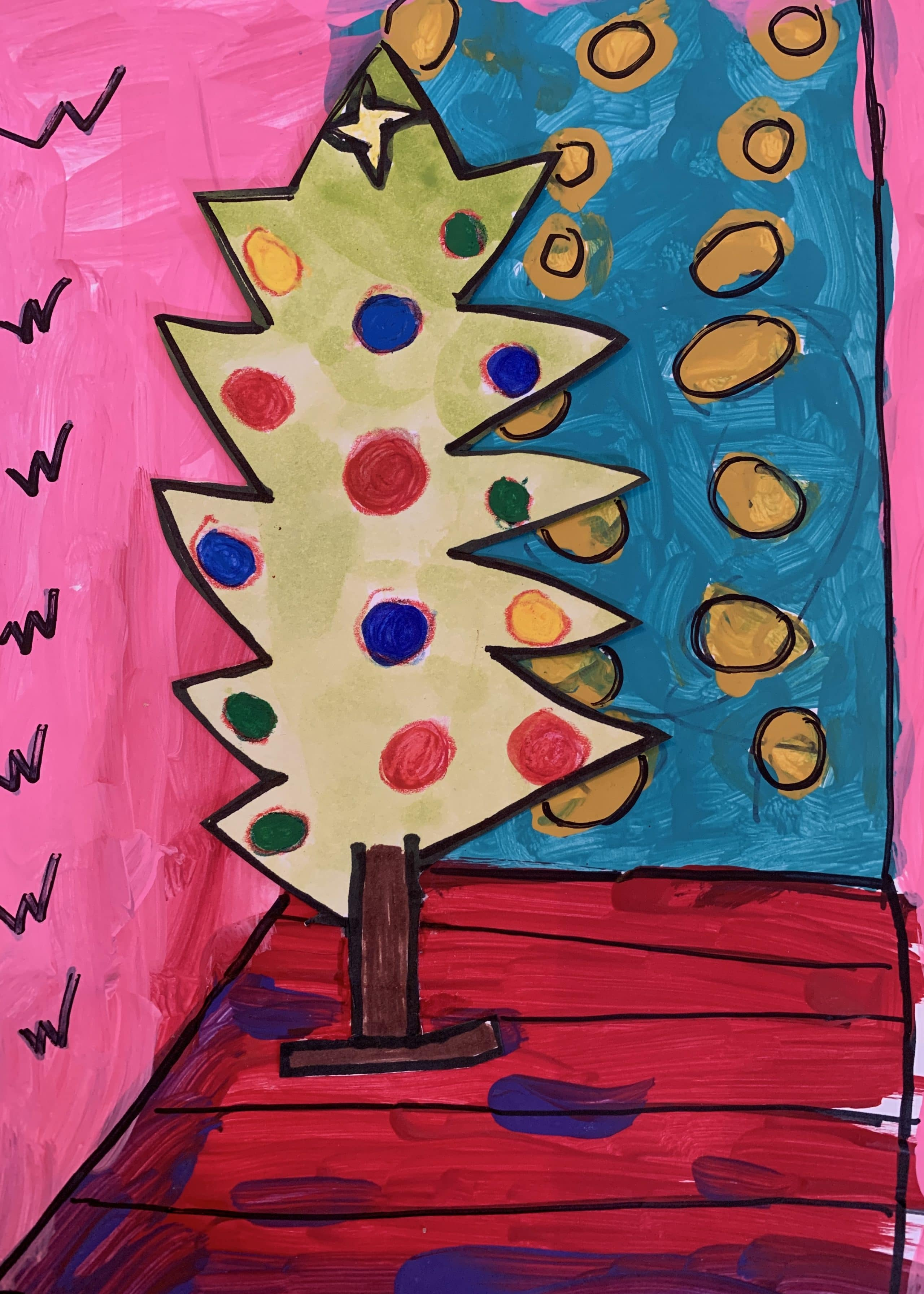 holiday greeting cards  merry matisse  north florida